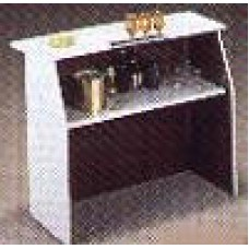 Bar, Formica Purple