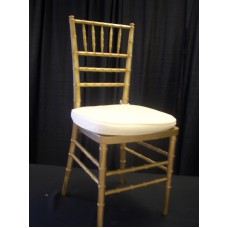 Chair, Chiavari w/pad (Gold)