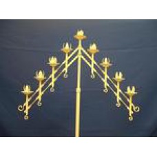 Candelabra Slant 9 Candles