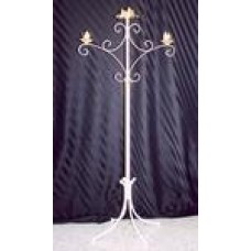 Candelabra Unity 2 Candles White