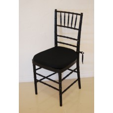 Chair, Chiavari w/pad (Black)