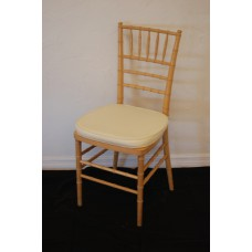 Chair, Chiavari w/pad (Natural)