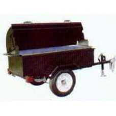 Charcoal Grill, Towable 2.5 x 6