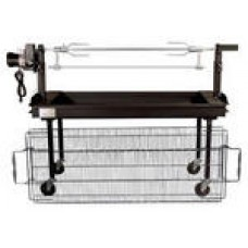 Charcoal,Grill & Rotisserie2'x5'Combination