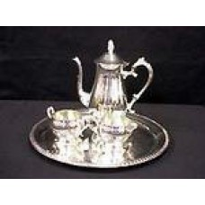 Coffee & Tea Set- Silver