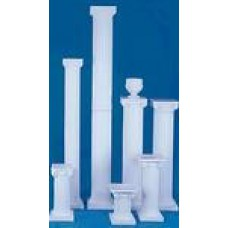 White Resin Column