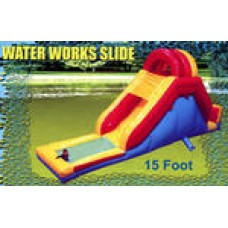 Game Water Works Slide 15'