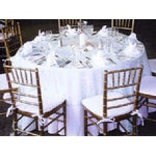 "Linen, 90"" Round Table Cloth"
