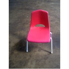 Chair, Kids School - Red