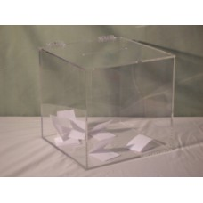 Raffle Box - Clear