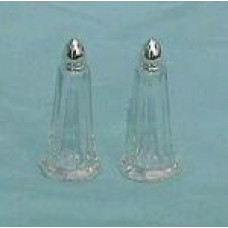 Salt & Pepper Shaker Each- Gold Eiffel or Clear