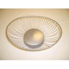 Serving Basket Silver Wire (ROUND)