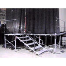 Stage-Step Rail