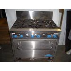 Stove 6 Burner with Oven