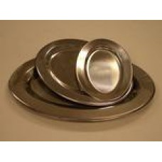 Stainless Oval Tray