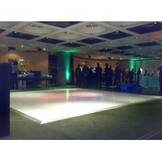 Dance Floor 3X3 White Marble