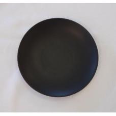 Dish - Black Round 7'